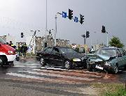 Auta uczestniczące w wypadku