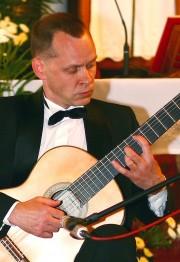 Marek Ulański na XVII Międzynarodowym Festiwalu Muzycznym.