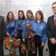 Stalowa Wola: Lekkoatletki KKS Victoria przyjęły gratulacje od władz powiatu