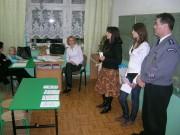 Spotkanie w Szkole Podstawowej nr 11.
