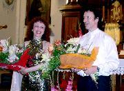 Catherine Dagois i Edgar Teufel bisują dla stalowowolskiej publicznosci