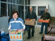 Wolontariuszom Chrześcijańskiej Służby Charytatywnej udało się zebrać ponad 600 kg artykułów spożywczych.