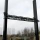 Stalowa Wola: Dwa duże filary stanęły na budowie stadionu MOSiR