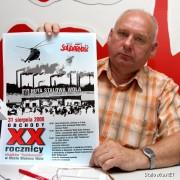 Henryk Szostak, przewodniczący NSZZ Solidarność HSW.