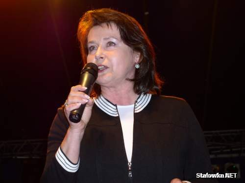 Elżbieta Jaworowicz - spotkanie z rodakami w Stalowej Woli