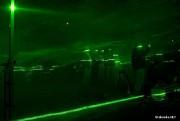W ubiegłym roku jedną z atrakcji był pokaz laserów.