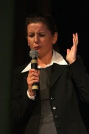 Wykładowca Politechniki Rzeszowskiej, dr Beata Zatwarnicka - Madura.