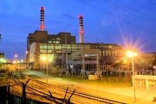 Elektrownia Stalowa Wola nocą