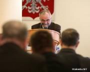 Wiceprzewodniczący Rady Miasta, Jan Sibiga.