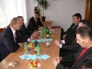 Wizyta przedstawicieli powiatu stalowowolskiego na Ukrainie.