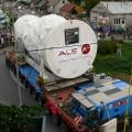 Stalowa Wola: Historyczny transport przejechał przez Stalową Wolę