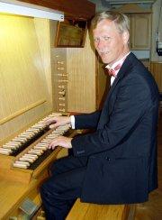 Szwedzki wirtuoz organów Per Ahlman przy rozwadowskich organach