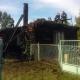Stalowa Wola: Pożar opuszczonego, drewnianego domu