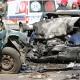 Stalowa Wola: DW-855: dwie osoby ranne w czołowym zderzeniu. Jeden z pojazdów stanął w płomieniach. Kierwca drugiego był pijany