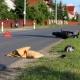 Stalowa Wola: W Pysznicy motocyklista potrącił pieszego