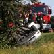 Stalowa Wola: Wypadek na krajowej 77: Dachowało auto. 3 dzieci w szpitalu