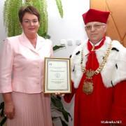 Rektor WSE - prof. dr hab. Jan Chojka.