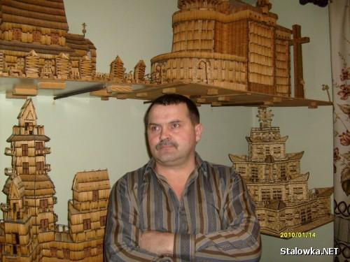 Wiesław Sady i jego zapałczane modele
