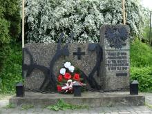 Pomnik pamięci w Rozwadowie przy ul. Rozwadowskiej