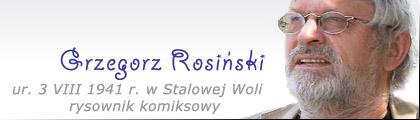 Stalowa Wola: Rosiński Grzegorz (światowej sławy rysownik komiksow)