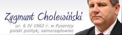 Stalowa Wola: Zygmunt Cholewiński (polityk))