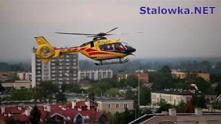 TV Stalowa Wola: Helikopter na dachu szpitala